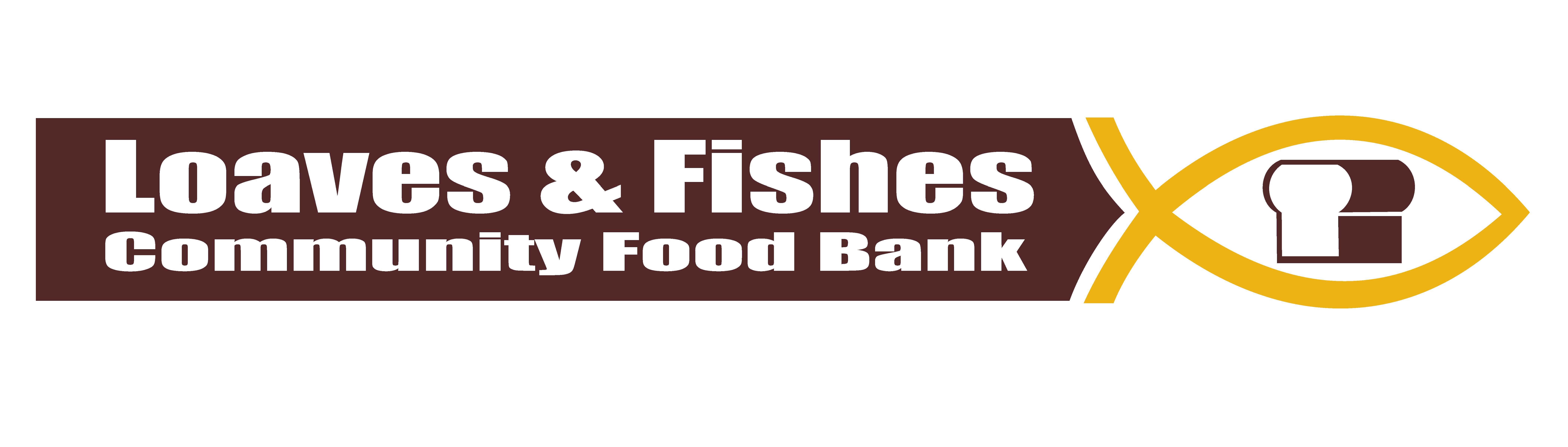 Nanaimo loaves and fishes charity logo.