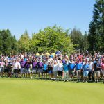 Group photo of 2017 Annual Centra Cares Classic group