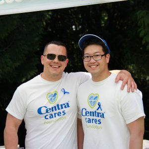 Two awesome Centra Cares volunteers!