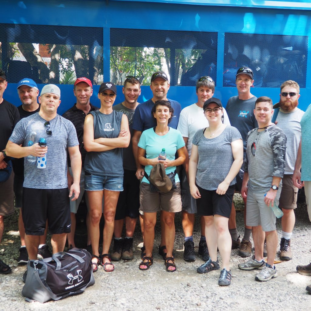 Group photo of our Centra Cares team in Haiti.